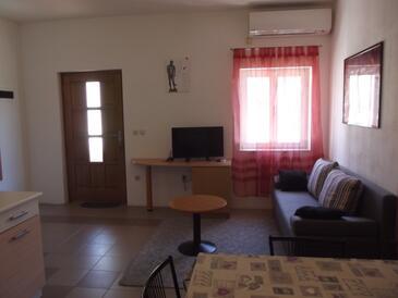Mali Lošinj, Dnevna soba v nastanitvi vrste apartment, dostopna klima, Hišni ljubljenčki dovoljeni in WiFi.