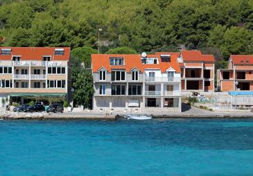 Prižba, Korčula, Obiekt 14385 - Apartamenty przy morzu.