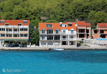 Prižba, Korčula, Property 14385 - Apartments by the sea.
