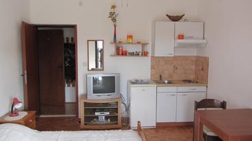 Sukošan, Кухня в размещении типа studio-apartment, доступный кондиционер и WiFi.