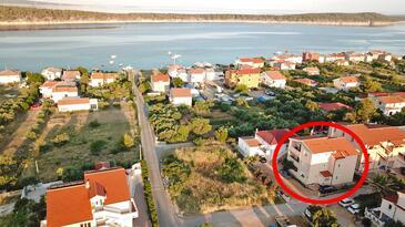 Barbat, Rab, Объект 14431 - Апартаменты с галечным пляжем.