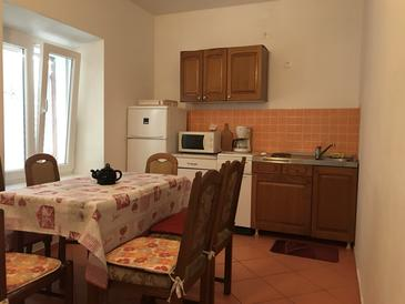 Kustići, Kuhinja u smještaju tipa house, kućni ljubimci dozvoljeni.