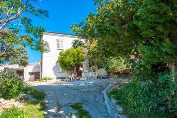 Kustići, Pag, Objekt 14438 - Kuća za odmor sa šljunčanom plažom.