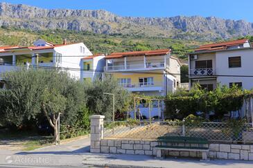 Sumpetar, Omiš, Объект 14450 - Апартаменты вблизи моря с галечным пляжем.