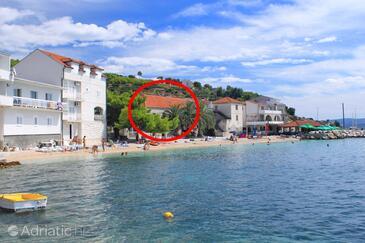 Sumpetar, Omiš, Объект 14456 - Дом для отдыха вблизи моря с галечным пляжем.