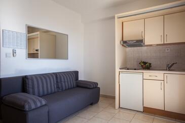 Tučepi, Dnevna soba v nastanitvi vrste studio-apartment, WiFi.