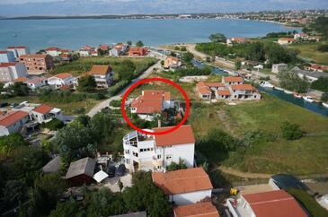 Nin, Zadar, Объект 14460 - Апартаменты с песчаным пляжем.