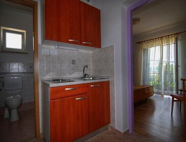 Nerezine, Kuchyně v ubytování typu studio-apartment, WiFi.
