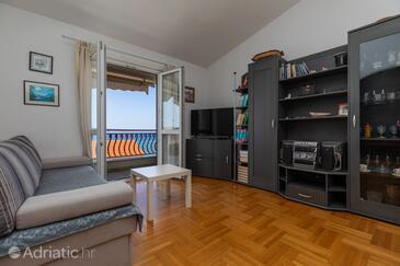 Duće, Pokój dzienny w zakwaterowaniu typu apartment, WiFi.
