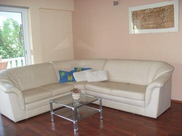 Ljubač, Гостиная в размещении типа apartment, доступный кондиционер, Домашние животные допускаются и WiFi.