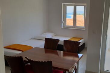 Bilo, Obývací pokoj v ubytování typu apartment, s klimatizací, domácí mazlíčci povoleni a WiFi.