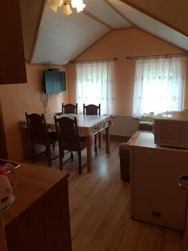 Smoljanac, Jídelna v ubytování typu apartment, WiFi.