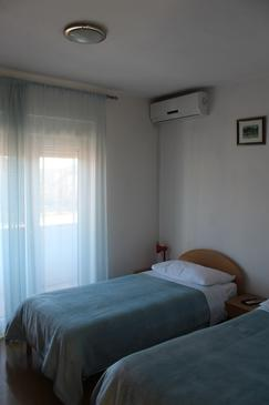 Trilj, Spalnica v nastanitvi vrste room, dostopna klima, Hišni ljubljenčki dovoljeni in WiFi.