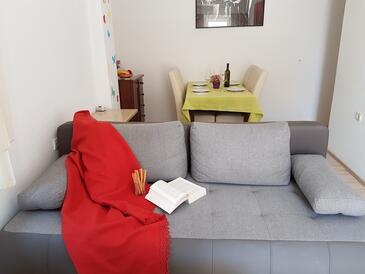 Crikvenica, Гостиная в размещении типа apartment, доступный кондиционер и WiFi.