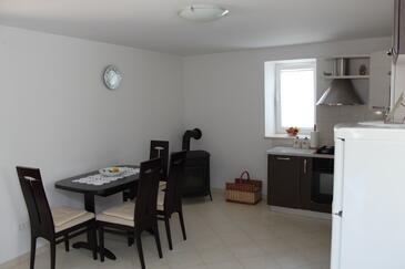 Vinjerac, Jídelna v ubytování typu apartment, WiFi.