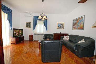 Bašarinka, Camera di soggiorno 1 nell'alloggi del tipo house, condizionatore disponibile, animali domestici ammessi e WiFi.
