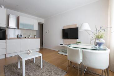 Zagreb, Гостиная в размещении типа apartment, доступный кондиционер и WiFi.
