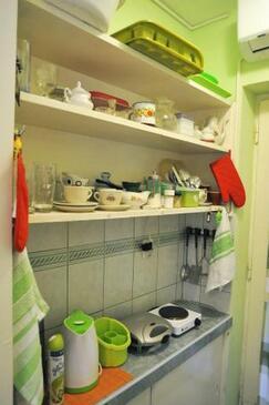 Zadar, Кухня в размещении типа studio-apartment, доступный кондиционер и WiFi.