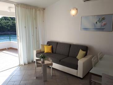 Gornja Krušica, Camera di soggiorno nell'alloggi del tipo apartment, condizionatore disponibile e WiFi.