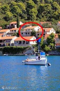Brna, Korčula, Объект 147 - Апартаменты вблизи моря.