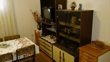 Gradac, Living room in the apartment, air condition available and WiFi.