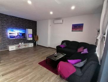Rovanjska, Гостиная в размещении типа apartment, доступный кондиционер и WiFi.