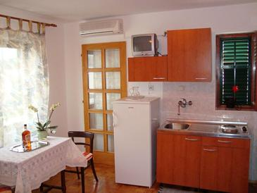 Sukošan, Kitchen in the studio-apartment.