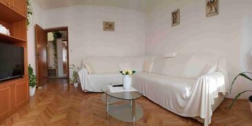 Supetar, Obývacia izba v ubytovacej jednotke apartment, WIFI.