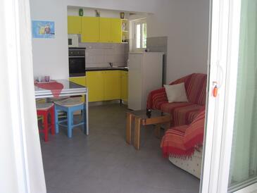Maslinica, Obývací pokoj v ubytování typu apartment, domácí mazlíčci povoleni a WiFi.