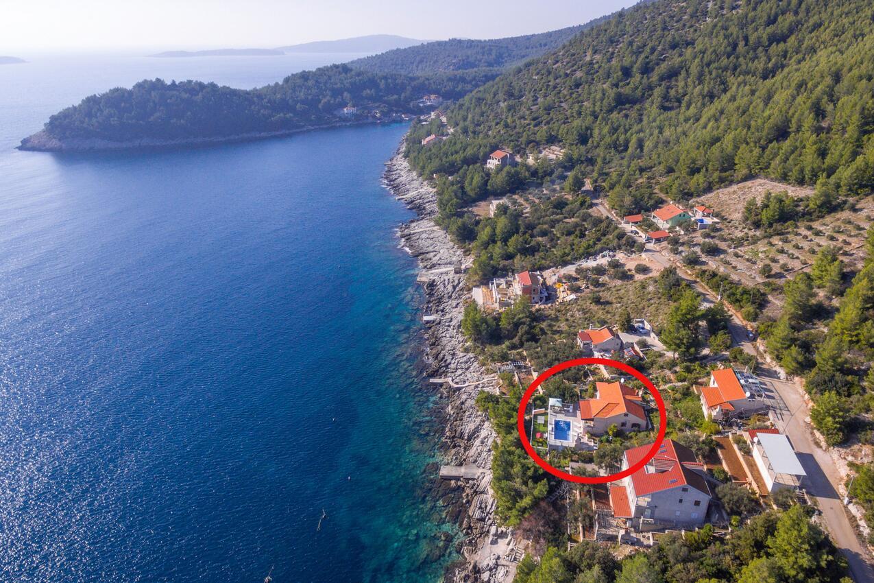 Dům s bazénem Korčula