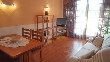 Ližnjan, Obývací pokoj v ubytování typu apartment, WiFi.