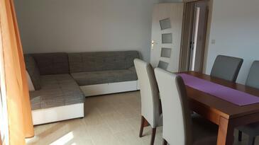 Poljica, Obývací pokoj v ubytování typu apartment, WiFi.