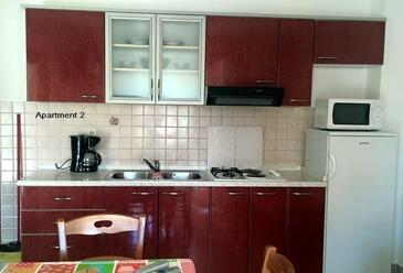 Lopar, Kuchyně v ubytování typu apartment, WiFi.