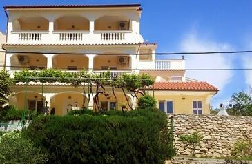 Lopar, Rab, Alloggio 14804 - Appartamenti affitto con la spiaggia sabbiosa.