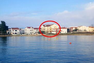 Privlaka, Zadar, Объект 14816 - Апартаменты вблизи моря с песчаным пляжем.