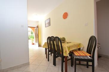 Mali Lošinj, Dining room in the apartment, (pet friendly).