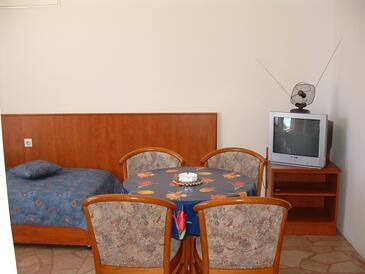 Lokva Rogoznica, Гостиная в размещении типа apartment, доступный кондиционер и WiFi.