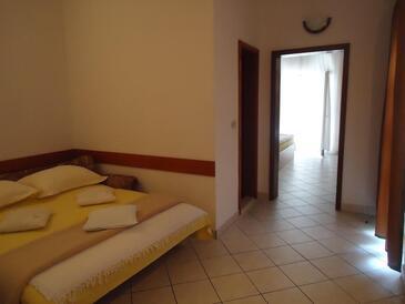 Baška Voda, Obývací pokoj v ubytování typu apartment, s klimatizací a WiFi.