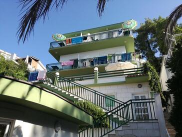 Baška Voda, Makarska, Obiekt 14881 - Apartamenty przy morzu ze żwirową plażą.