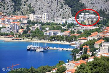 Omiš, Omiš, Property 14894 - Apartments with sandy beach.