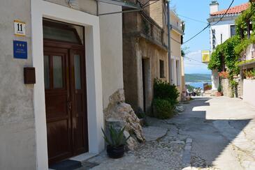 Vrbnik, Krk, Objekt 14904 - Ubytování v blízkosti moře s oblázkovou pláží.