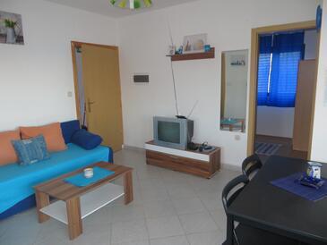 Okrug Gornji, Гостиная в размещении типа apartment, WiFi.