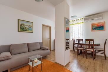 Split, Гостиная в размещении типа apartment, доступный кондиционер и WiFi.