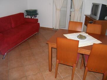Sukošan, Dnevna soba v nastanitvi vrste apartment, dostopna klima, Hišni ljubljenčki dovoljeni in WiFi.