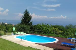 Family friendly apartments with a swimming pool Veprinac (Opátia - Opatija) - 14999