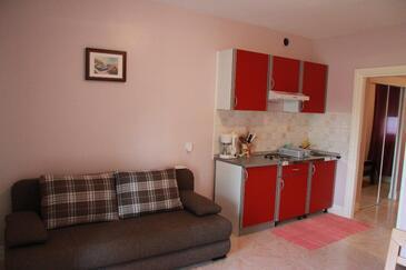 Zaton, Obývací pokoj v ubytování typu apartment, WiFi.