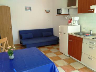 Hvar, Obývací pokoj v ubytování typu apartment, s klimatizací, domácí mazlíčci povoleni a WiFi.