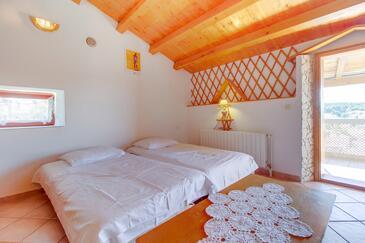 Mali Lošinj, Obývacia izba v ubytovacej jednotke apartment, klimatizácia k dispozícii, domáci miláčikovia povolení a WiFi.
