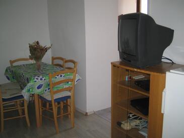 Selce, Eetkamer in the apartment, (pet friendly) en WiFi.