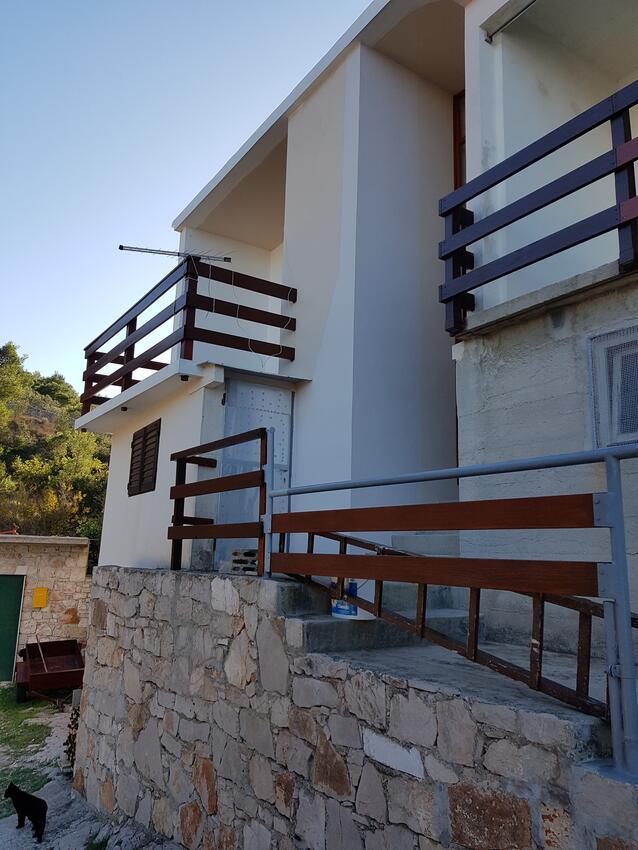 Appartement de vacances im Ort Koromaana (}irje), Kapazität 2+2 (2411707), Zirje, Île de Zirje, Dalmatie, Croatie, image 8